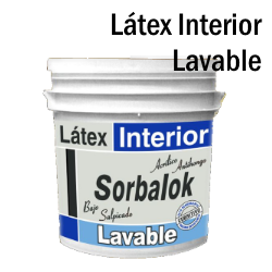 latex interior lavable sorbalok